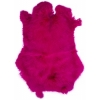 Rabbit Fur Skin - Medium Grade  Dyed Fuchsia (1pc)